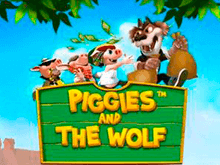 Видео-слот Piggies And The Wolf